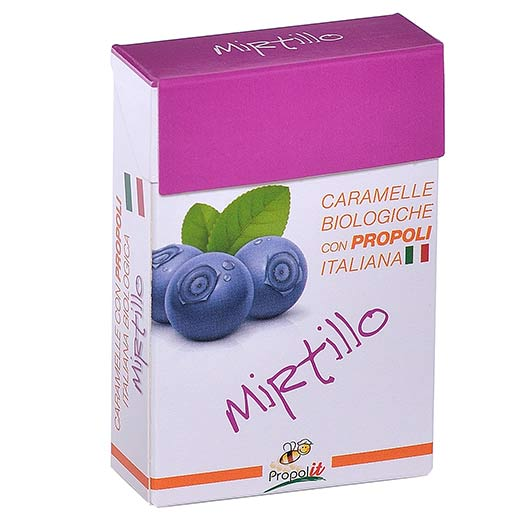 Caramelle biologiche Mirtillo