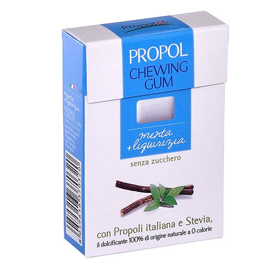 Sugar free chewing gum - mint and Licorice