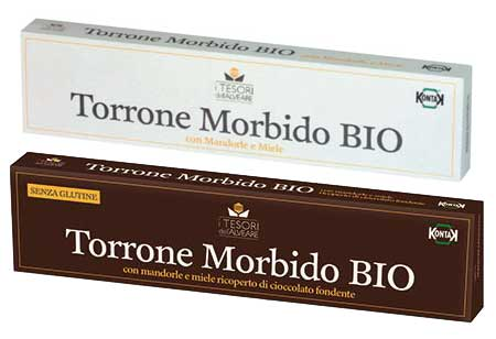 Torrone morbido biologico